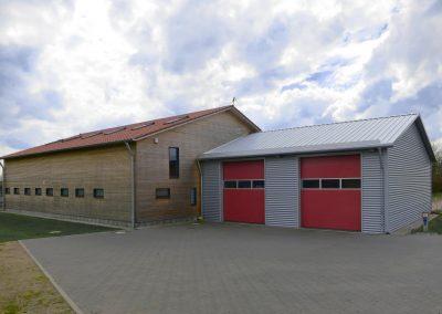 Dorfgemeinschaftshaus Nübel mit Feuerwehr 2